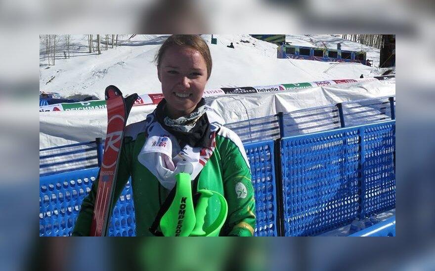 Ieva Januškevičiūtė. Photo by Jenn Virškus