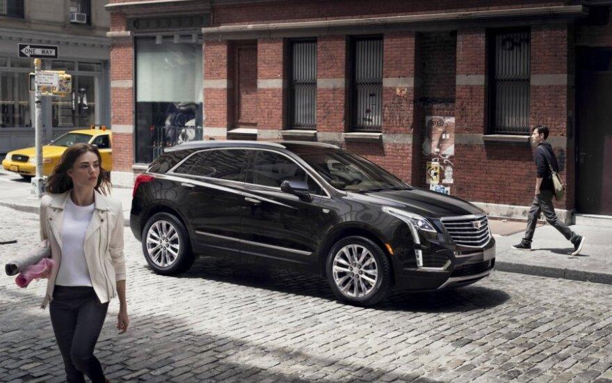"""Paskutine """"Cadillac"""" naujiena tapo """"XT5"""""""