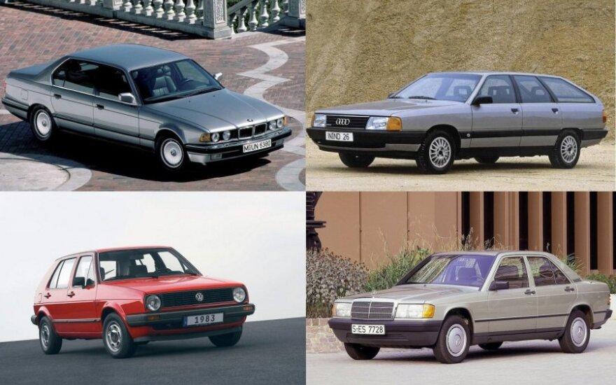 Seni automobiliai