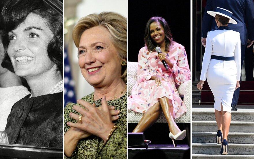 Jacie Kennedy, Hillary Clinton, Michelle Obama, Melania Trump
