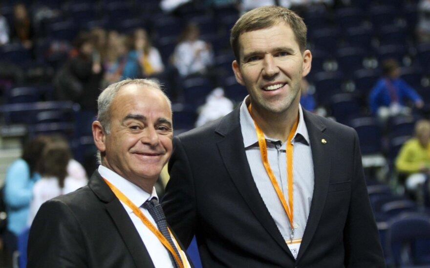 Giedrius Dranevičius (dešinėje)