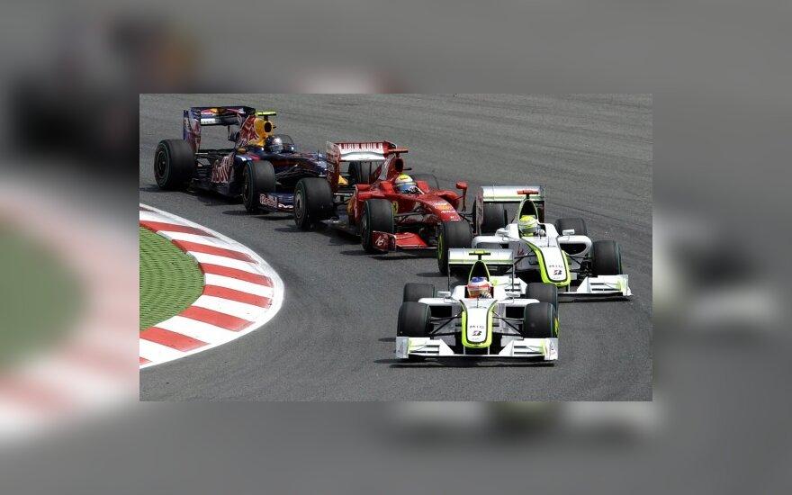 """""""Formulės-1"""" lenktynės"""