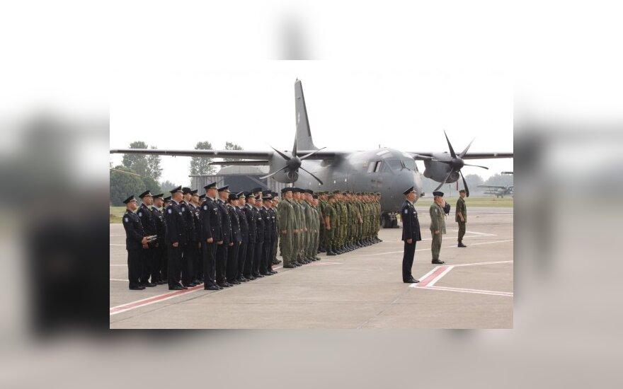 Pasikeitė Karinių oro pajėgų Aviacijos bazės vadas