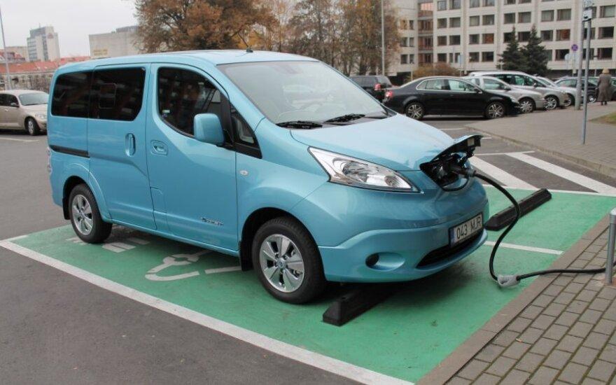 Elektromobilis Nissan e-NV200 Evalia