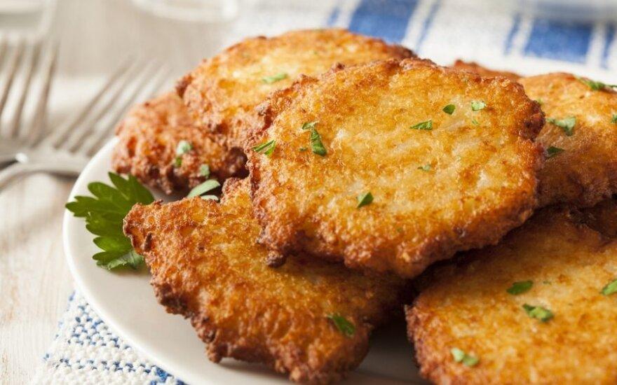 Bulvių blynai su ypatingu ingredientu