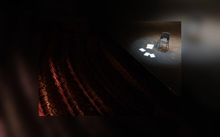 "Rusų dramos teatre - spektaklio ""Bėganti su vilkais"" premjera"