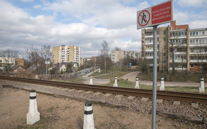 Naujininkuose planuojama įrengti pėsčiųjų tunelį po geležinkeliu