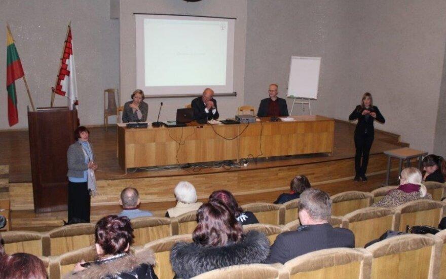 Žmonių su negalia forumas Panevėžyje