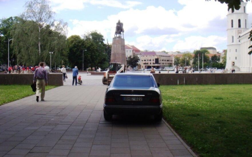 Vilniuje, Sereikiškių parkas. 2012-06-29