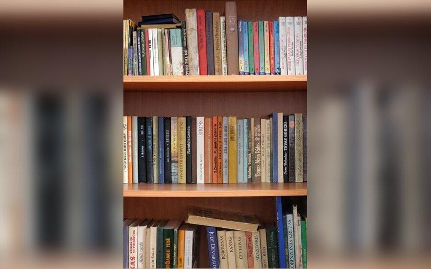 Knygos, skaitymas, literatūra, biblioteka, knygynas