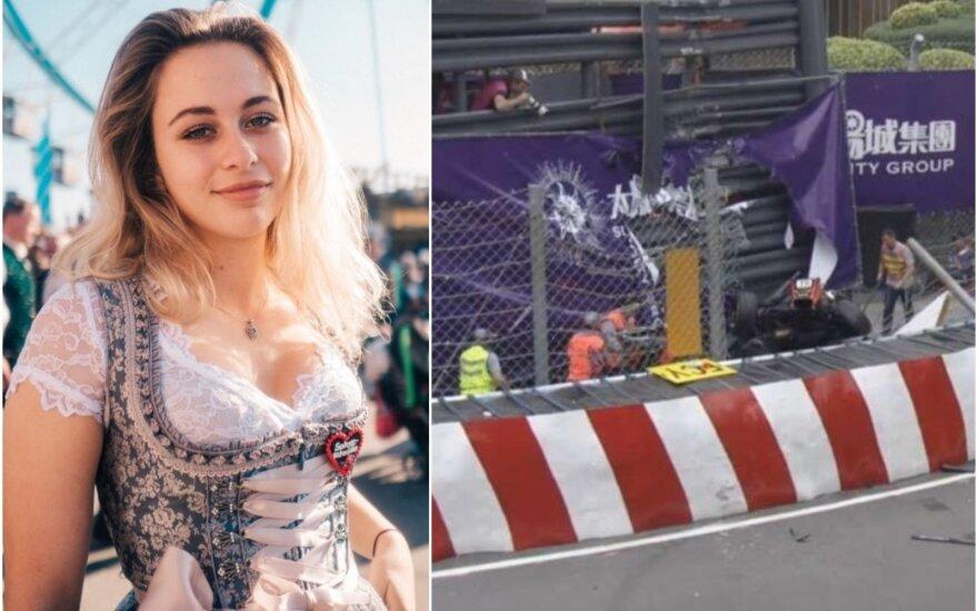 Sophia Florsch, avarija Makao trasoje