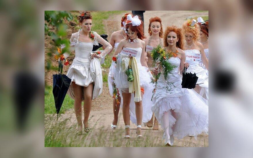 Nuotakų paradas Minske