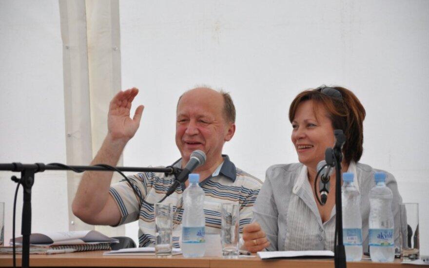 Andrius Kubilius ir Rasa Juknevičienė, TS-LKD nuotr.