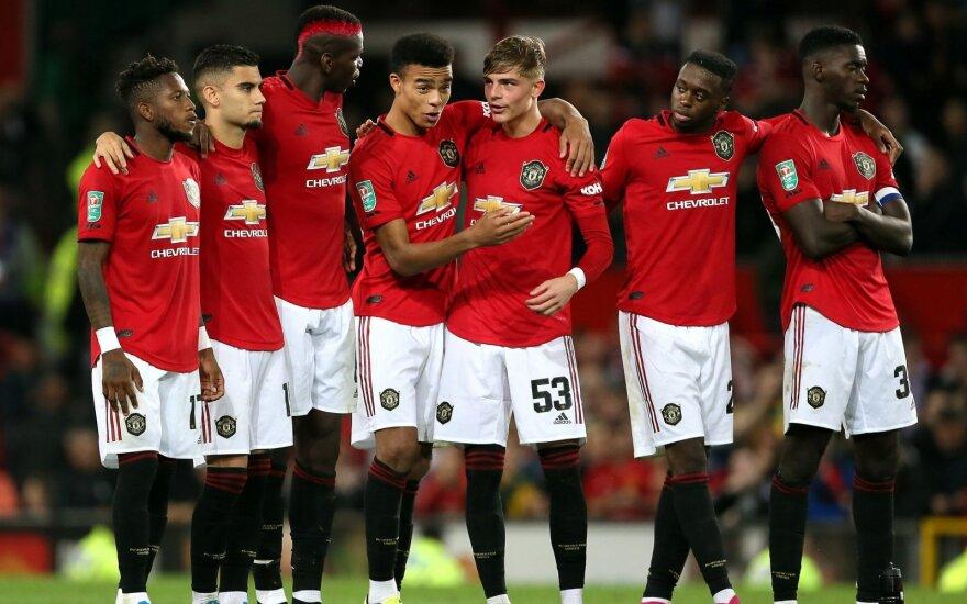 """""""Manchester United"""" komanda"""