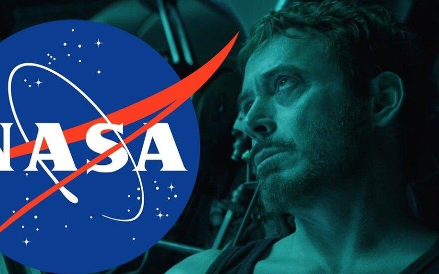 """NASA sureagavo į """"Marvel"""" gerbėjų prašymą padėti Toniui Starkui"""