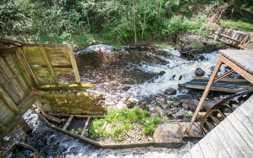 Šlyninkos watermill in Zarasai region