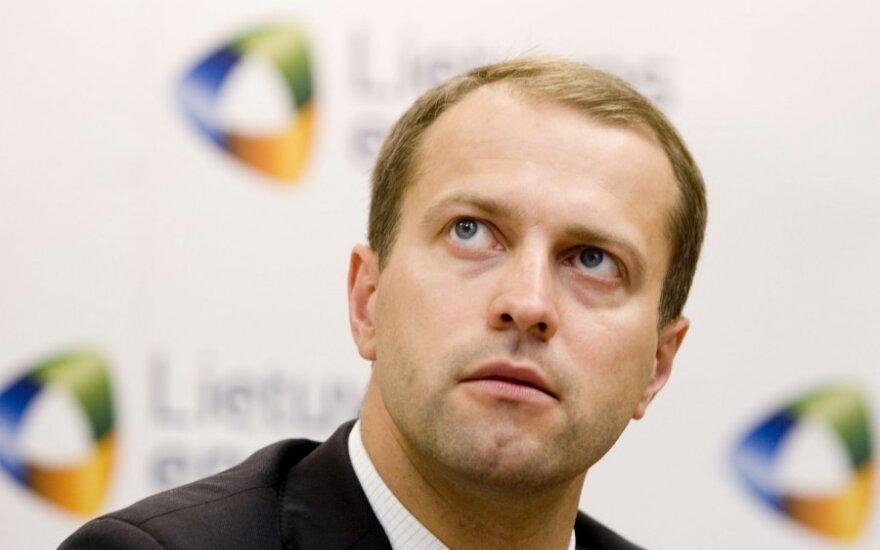 """""""Lietuvos energijos"""" generalinis direktorius Dalius Misiūnas"""