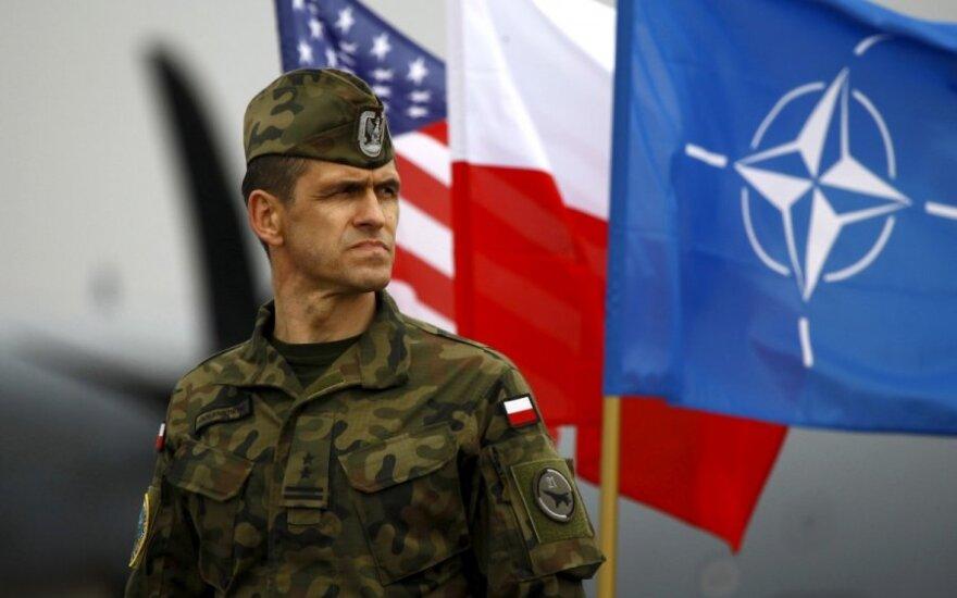 NATO žingsnis prie rytinių sienų