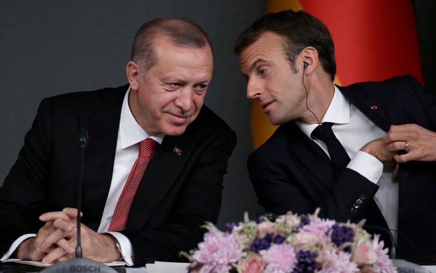 Recepas Tayyipas Erdoganas, Emmanuelis Macronas