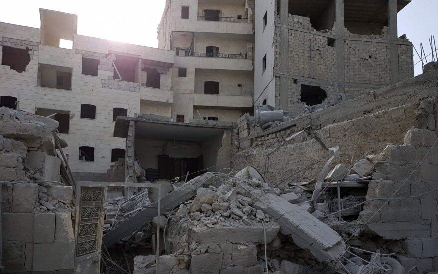 Sirijoje 2018 metais savo namus turėjo palikti daugiau kaip 920 tūkst. žmonių