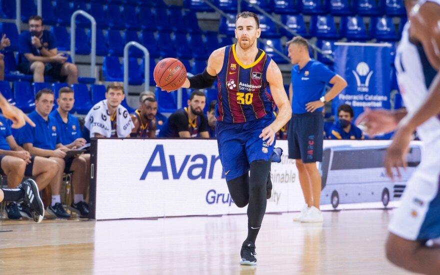 Victoras Claveras / Foto: Barcelonos klubo Twitter paskyra