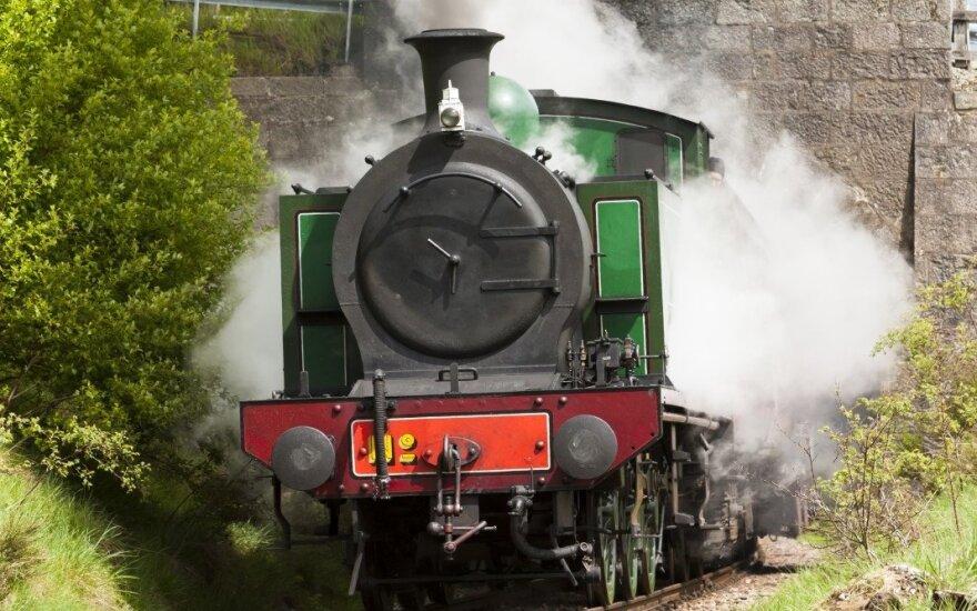 Škotija, geležinkelis