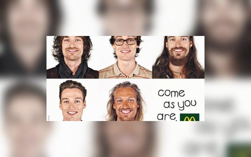 """""""McDonald's"""" sukūrė reklamą homoseksualams"""