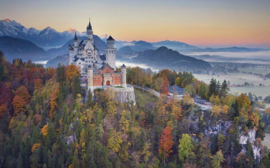 Noišvanšteino pilis, Bavarija, Vokietija