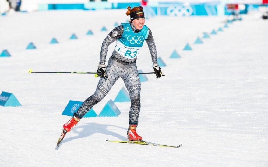 Pjongčango olimpiada: slidininkė Marija Kaznačenko
