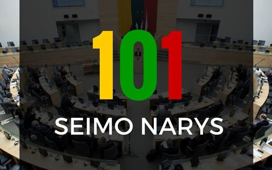 Ar pritariate Seimo narių skaičiaus sumažinimui nuo 141 iki 101?