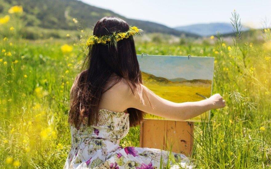 Kaip mus veikia meno kūriniai, priklauso ir nuo kūrėjo istorijos