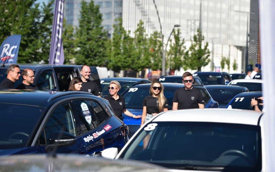 Vilniuje startavo septintosios elektromobilių varžybos