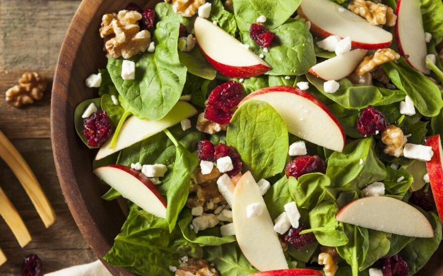 Viena efektyviausių – jauninanti ir organizmą šarminanti mityba