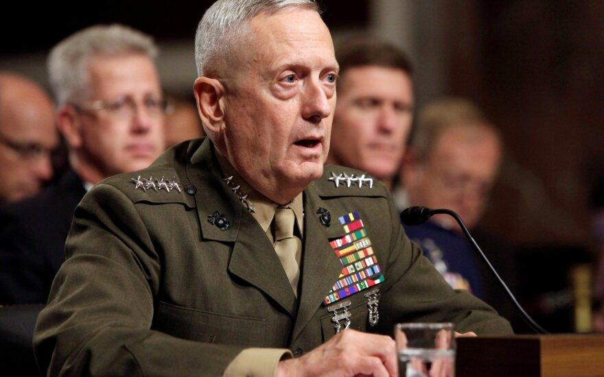 United States Secretary of Defense James Mattis