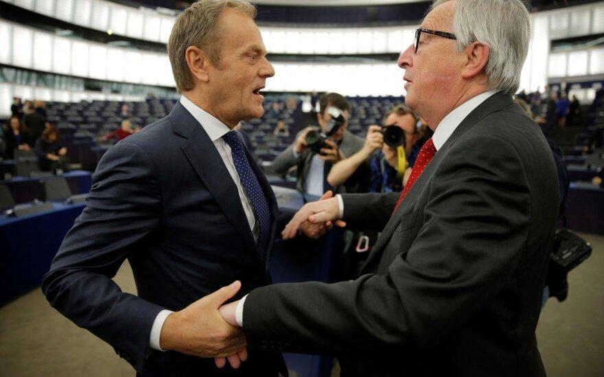 Donaldas Tuskas, Jeanas-Claude'as Junckeris