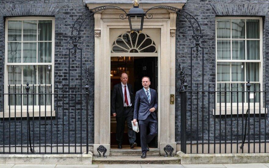 JK vyriausybės būstinė Dauningo gatvėje