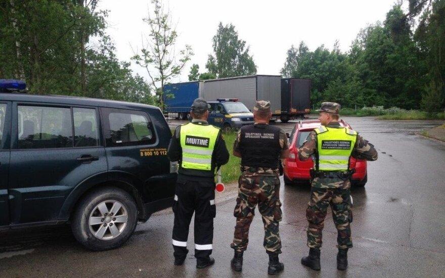 """Prie sienos su Latvija vyksta operacija """"Žara"""""""