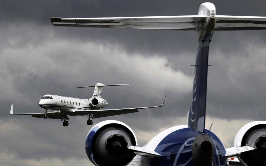 Žiniasklaida: privatus Lukašenkos lėktuvas – Šveicarijoje