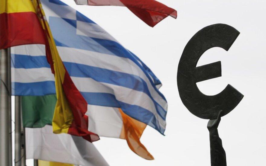 Rinkos dalyviai menkai tepasitiki euro zona