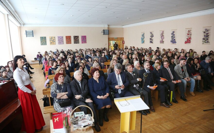"""Tarptautinė mokslinė-teorinė konferencija """"Gamtamokslinis ugdymas XXI a. mokykloje"""" Panevėžio Beržų progimnazijoje"""