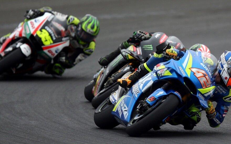 """""""MotoGP"""" lenktynių Argentinos etapas"""