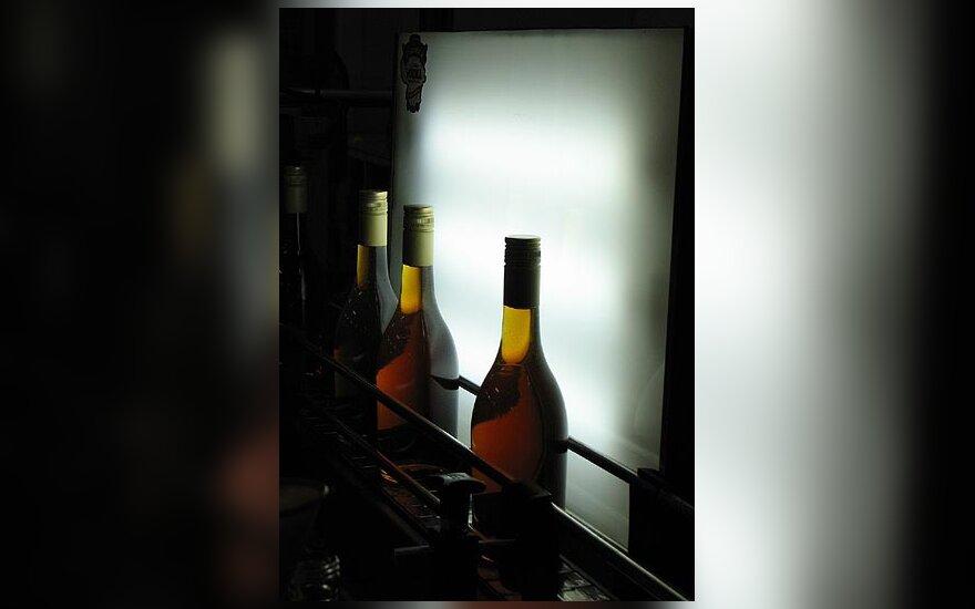 alkoholis, buteliai