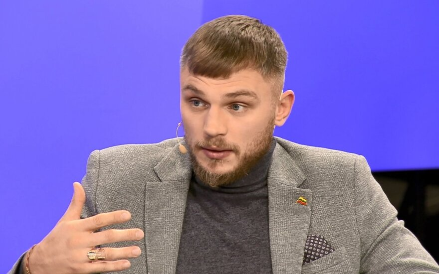 Lietuvos kovotojas Sergėj Maslobojev – Kuvalda