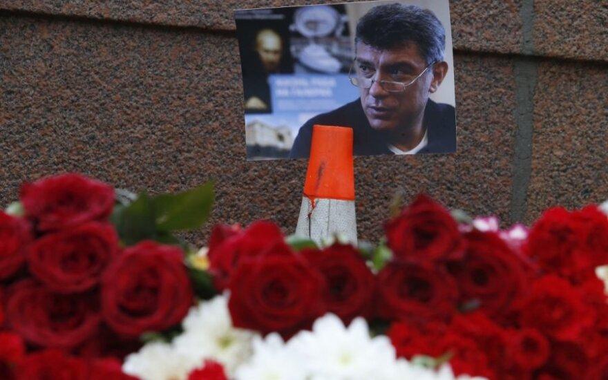 Maskvos centre nušautas Kremliaus kritikas B. Nemcovas