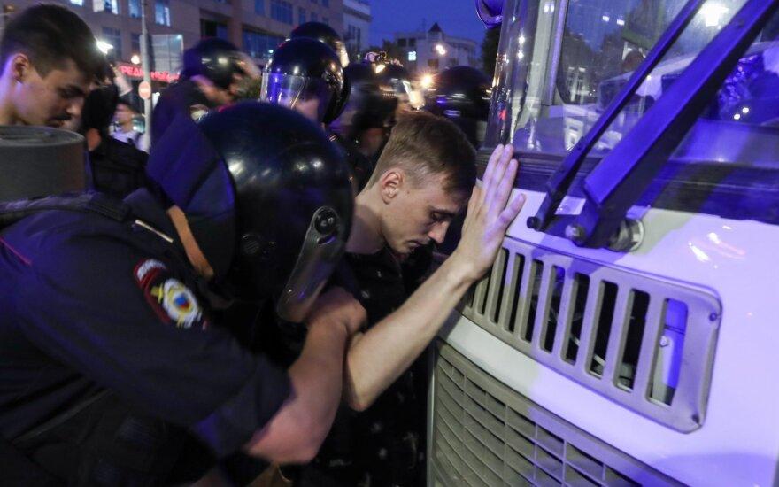 Liepos 27-osios protestas Maskvoje