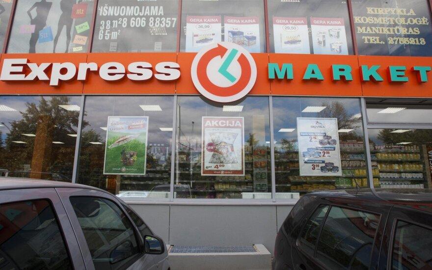 """Nauji """"Express Market"""" prekės ženklai rodo planus užsiimti e. prekyba"""