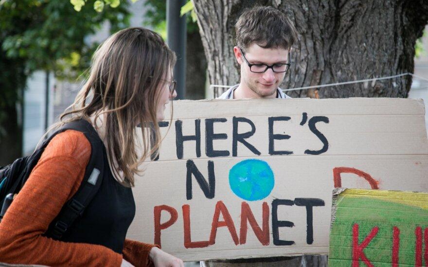 Vyriausybė nesutaria dėl ES ambicijų stabdyti klimato kaitą