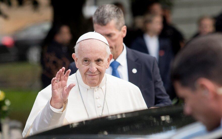 Okupacijų ir laisvės kovų muziejui – popiežiaus dovana