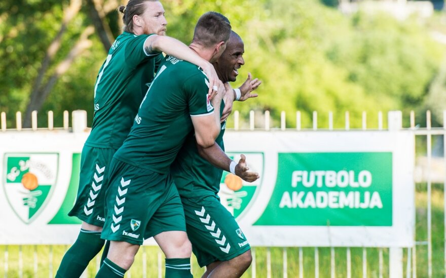"""""""Kauno Žalgirio"""" futbolo komanda / FK """"Kauno Žalgiris"""" nuotr."""