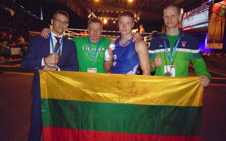 Martynas Jasiūnas iškovojo sidabro medalį
